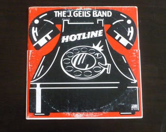 The J. Geils Band Hotline Vinyl Record LP SD 18147 Atlantic Records 1975