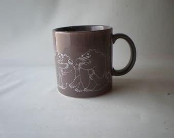 Vintage Taylor & Ng Naughty Bears Mug