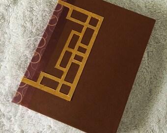OOAK Handbound Book, Lacquer Box
