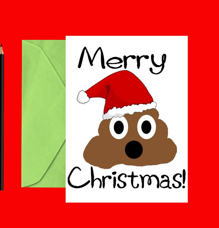 Funny christmas card poop christmas card funny holiday card funny christmas card poop christmas card funny holiday card christmas cards holiday m4hsunfo Gallery
