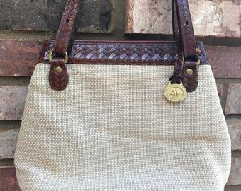 Vintage BRAHMIN Tote Bag