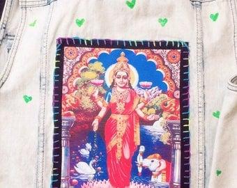 Lakshmi Love jean vest