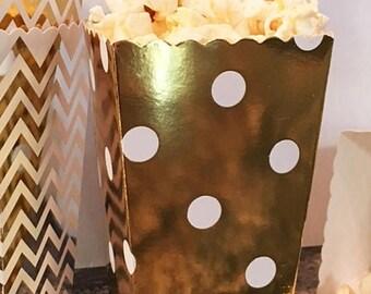 GLAMSALE 50 Party Favor Boxes, Mini Popcorn Boxes, Wedding Favor Boxes, Cookie Boxes, Candy Boxes, Donut Boxes, Mini Snack Boxes, Party Trea