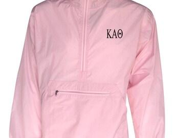Kappa Alpha Theta Unlined Anorak (Pink)