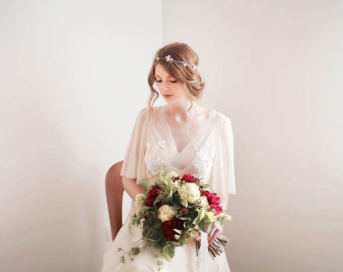 Pearl Headband Wreath, Bridal Headband, Pearl Hair Vine, Pearl Headband, Pearl Hair Accessories, Wedding Headpiece, Wedding Headpiece