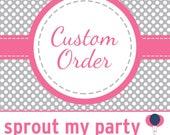 Custom Order for lakeetham