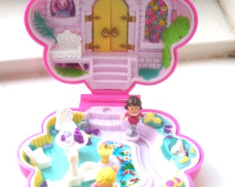 Vintage Polly Pocket Garden Surprise Secret Garden Playset with Bonus - Bluebird Toys 1990