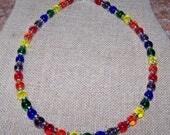 JULYSALE Gay Pride Necklace Rainbow Necklace