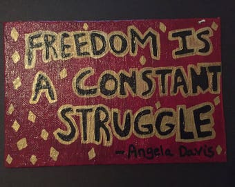 Freedom Is... Canvas