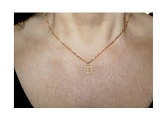 Dainty Hamsa charm necklace,small hamsa, gold hamsa necklace, hamsa charm, hamsa necklace, evil eye charm necklace