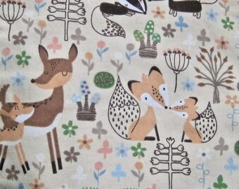 Burp Cloths Baby Woodland Forest Animals