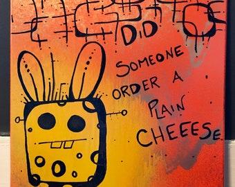 Bunnie Gets tha Cheese