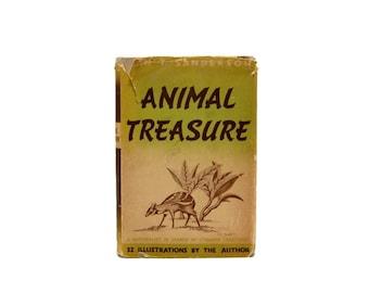 1937 Animal Treasure Ivan Sanderson Scottish Naturalist Cryptozoologist Early 20th Century African Flora Fauna British West Africa