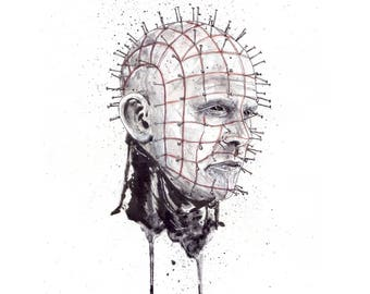 Pinhead Signed and Numbered 11x14 Art Print