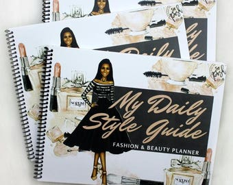 Daily Style Guide Fashion and Beauty Planner