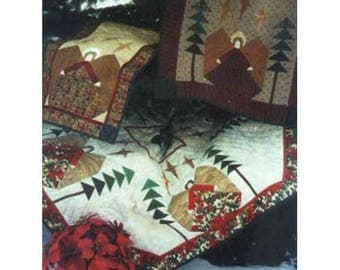 Tree Skirt Pattern Quilt Christmas Holiday