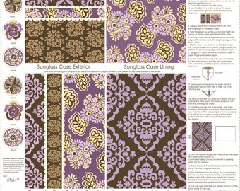 Craft Project, Orchid Accessory Panel, Fiona's Fancy by Lila Tueller for Riley Blake Designs, C2677