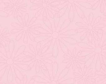 The Quilted Fish Fabric, Sweet Divinity by The Quilted Fish for Riley Blake Fabrics, C6105 Daisy in Pink