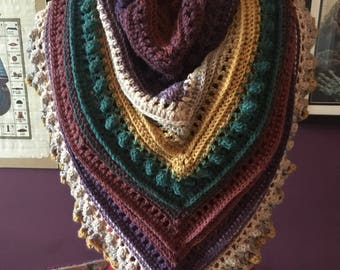 Secret paths shawl