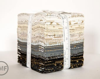 Modern Background Luster Fat Quarter Bundle, Brigitte Heitland, Zen Chic, Moda Fabrics, Precuts, 1610ABM