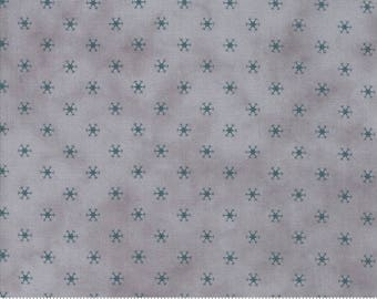 Snowman Gatherings III Ice Blue 1216 24 by Primitive Gatherings for moda fabrics