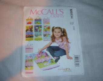 McCall's Pattern #M6934 for Travel Toy Mats for Children-Uncut