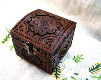 Wedding ring box Wedding ring holder Wedding jewelry box Wedding ring bearer box Ring box Wooden box Wedding wooden box Engagement box B42