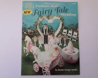 Plastic canvas Fashion Doll Fairy Tale Wedding instruction booklet