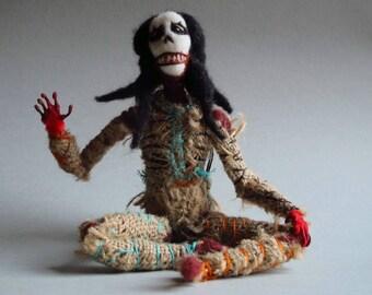 Hippy Chick Dead Eye Doll