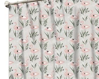 Custom Made Shower Curtains Fabric Curtain