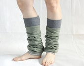 womens boot toppers boot cuffs leg warmers cotton leg warmers mint green activewear