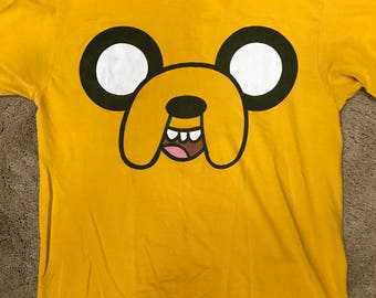 Adventure Time Jake the dog T-Shirt Size M