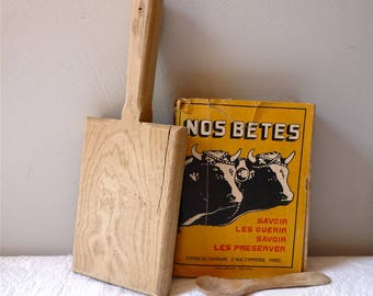 Bread cutting board - Countryside Kitchen - French Vintage Cutting Board - VINTAGE board