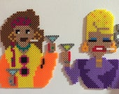 Absolutely Fabulous magnet set