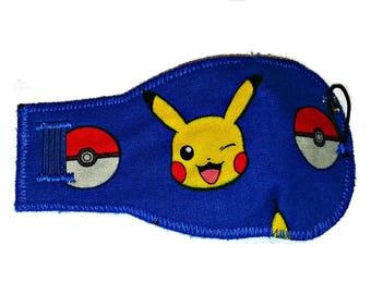 Royal Blue Pokemon! Eye-Lids - kids eye patches - soft, washable eye patches for children and adults