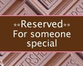Reserved for - Ashanti
