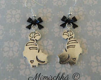 earrings cheshire cat alice in wonderland