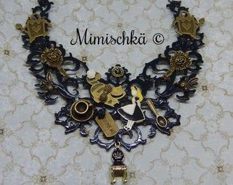 necklace  choker alice in wonderland