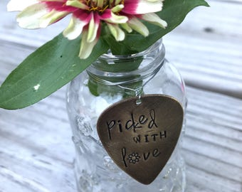 Picked with Love Bud Vase
