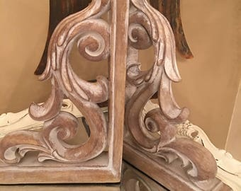 Large Corbels pair, Farmhouse, Fixer Upper, YOUR COLOR CHOICE