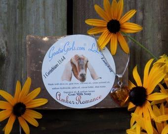 Amber Romance Goat Milk Soap