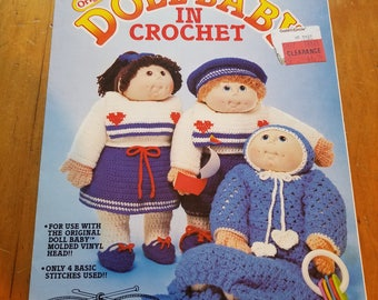 The Original Doll Baby in Crochet (FCM 102) Pamphlet – 1984