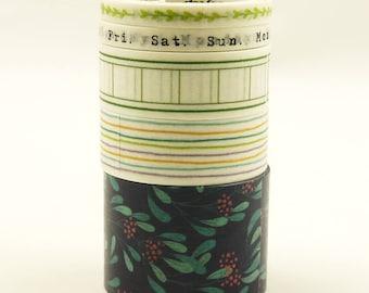 Acute - Japanese Washi Masking Tape Box Set - 5 rolls - 3.3 Yard (each roll)