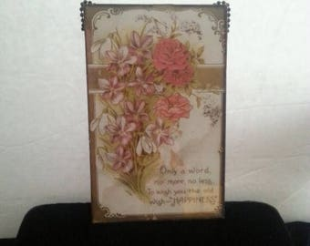 Now On Sale 1909 Antique Postcard * 1900's Paper Collectible