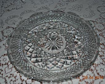 Anchor Hocking Wexford 5 Section Relish Dish