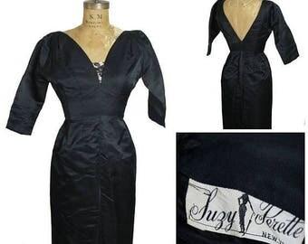ON SALE 1950s Suzy Perette Dress