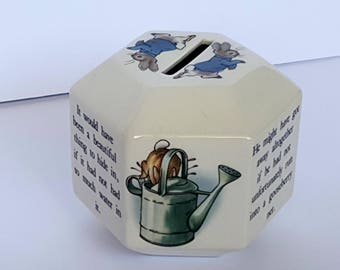 Wedgwood Peter Rabbit Small Childs Bank Vintage