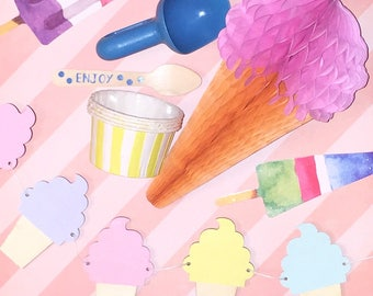 Ice Cream Party kit