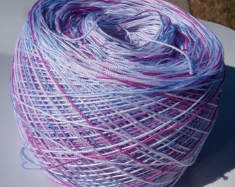 Lizbeth Tatting Thread -  Size 10 - Hand Dyed - Fairy Princess - Your Choice of Length - HDT - Large Project Size