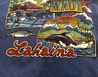 Vintage Maui Hawaii shirt